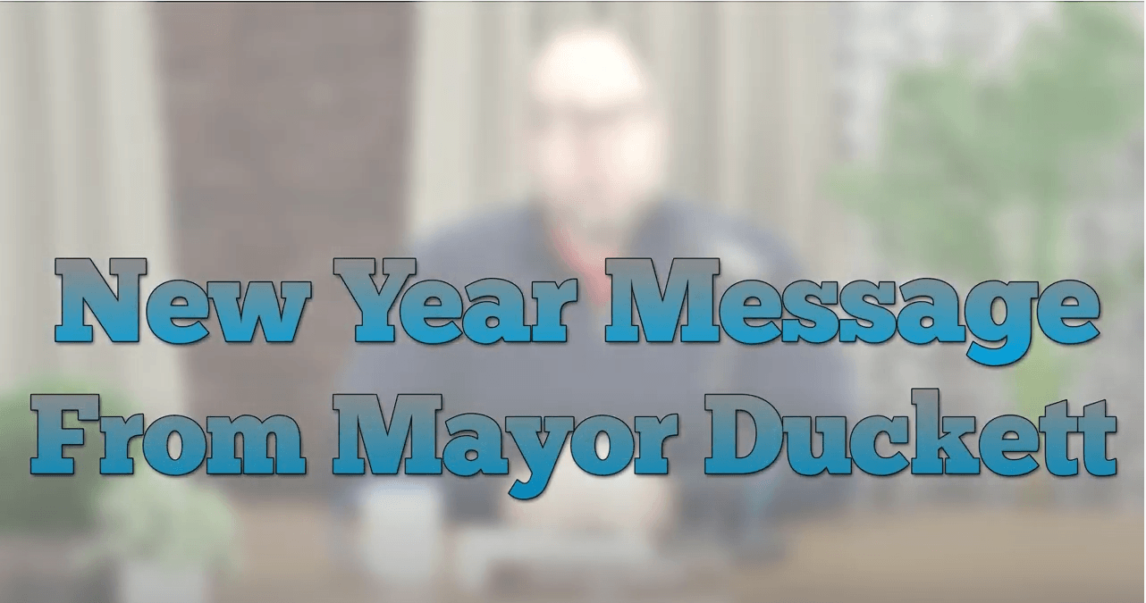 2021 Message from the Mayor