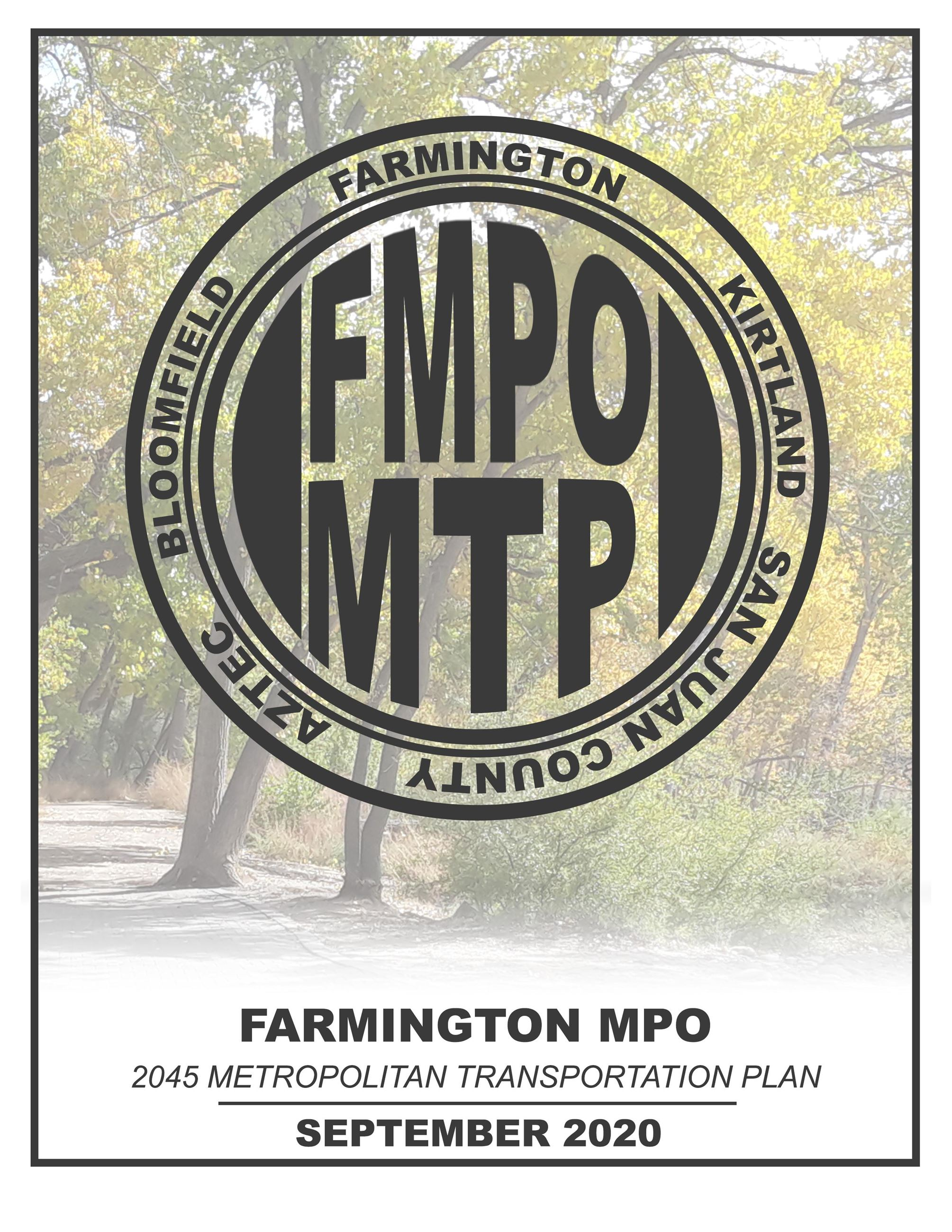 FMPO 2045 MTP Cover Page Final Opens in new window